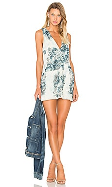 Adriana Mini Dress in Flower Print