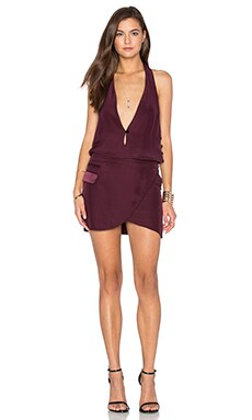 DREAM Colette Dress in Burgundy