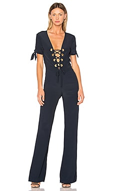 Nicolette Jumpsuit in Marineblau