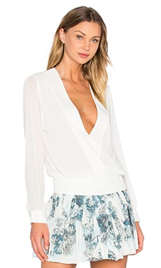 Zoe Blouse in Ivory
