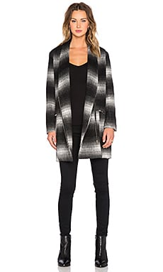 Dress Gallery Tenor Coat in Black & White