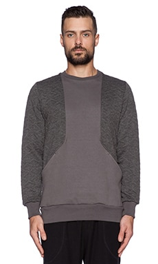 Drifter Warren Pullover in Grey