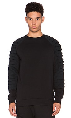Drifter Cid Pullover in Black