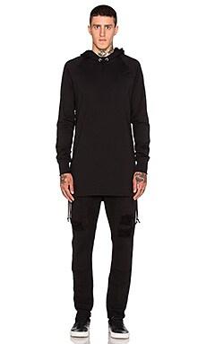Drifter Allen Pullover in Black