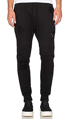 Drifter Oliver Sweatpant in Black