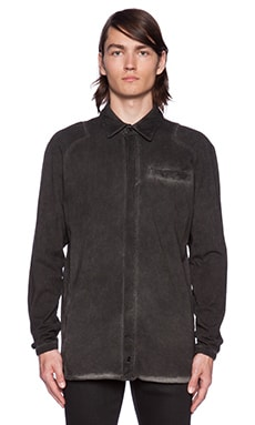 Drifter Lowen Button Up in Black