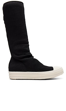 Sock Sneakers in Schwarz
