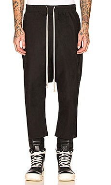 Drawstring Cropped Pants DRKSHDW by Rick Owens $442