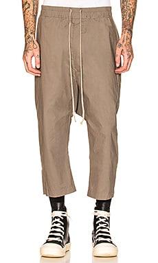Drawstring Cropped Pants DRKSHDW by Rick Owens $442