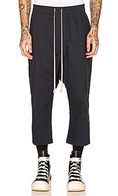 Drawstring Cropped Pants DRKSHDW by Rick Owens $631