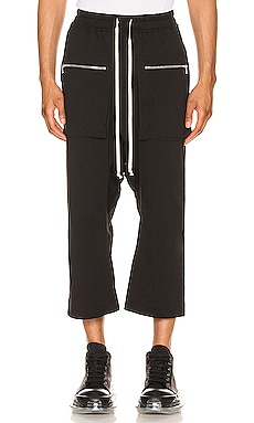 Cargo Drawstring Cropped Pant DRKSHDW by Rick Owens $620