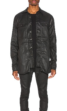 Cargo Pocket Shirt DRKSHDW by Rick Owens $398