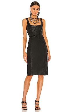 Lou Leather Dress DUNDAS x REVOLVE $698