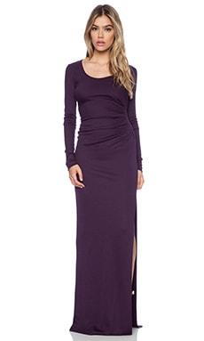 Diane von Furstenberg Maxi Gown in Purple Jewel