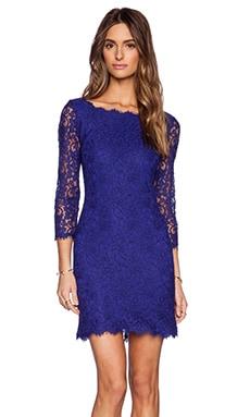 Diane von Furstenberg Zarita Dress in Chrome Purple