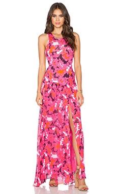 Diane von Furstenberg Davina Maxi Dress in Eden Garden