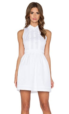 Diane von Furstenberg Lara Dress in White