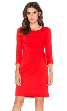 Diane von Furstenberg Zoe Dress in Sundried Tomato