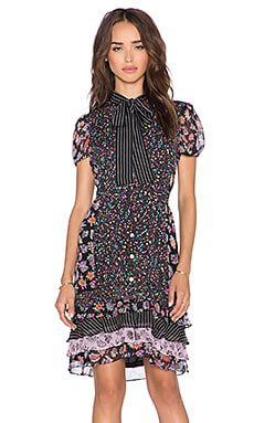 Diane von Furstenberg Gypsy Dress in Vintage Gypsy Floral Multi