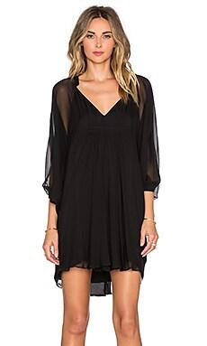 Diane von Furstenberg Fleurette Dress in Black