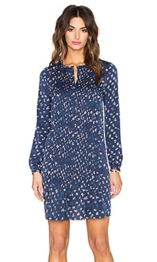 Diane von Furstenberg Meadow Dress in Daisy Buds Tiny New Indigo