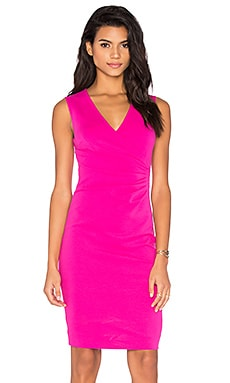 Diane von Furstenberg Layne Dress in Vivid Pink