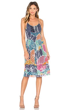 Diane von Furstenberg Franny Dress in Flower Power Dream Multi