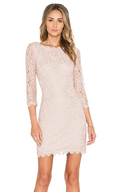 Diane von Furstenberg Zarita Dress in Nude