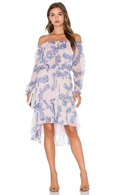Diane von Furstenberg Camila Two Dress in Papillon Ombre Periwinkle