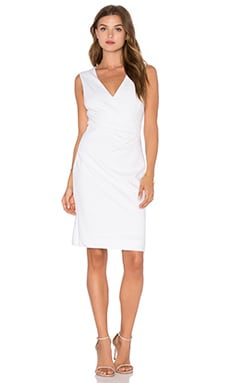 Diane von Furstenberg Layne Dress in White