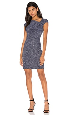 Diane von Furstenberg Amrita Dress in Dream Dot Midnight