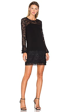 Diane von Furstenberg Lavana Lace Dress in Black