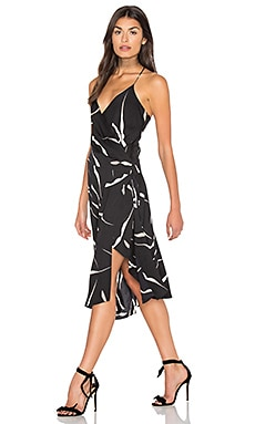 Brenndah Dress in Gesture Black