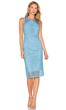 Lace Dress in True Blue