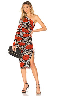 Ruched Dress Diane von Furstenberg $428