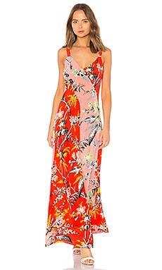 Paneled Maxi Dress Diane von Furstenberg $204