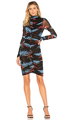 Olivia Mini Dress Diane von Furstenberg $398