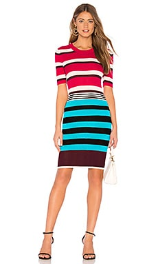 Striped Sweater Dress Diane von Furstenberg $129