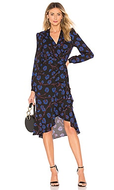 Jovie Wrap Dress Diane von Furstenberg $300