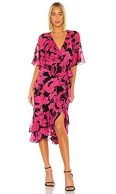 Zion Wrap Dress Diane von Furstenberg $498