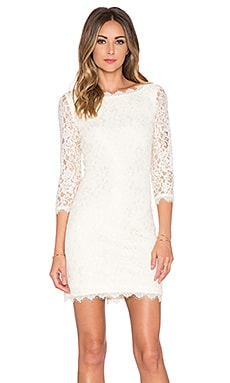 Diane von Furstenberg Zarita Dress in Ivory