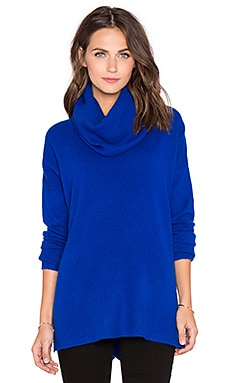 Diane von Furstenberg Ahiga Slim 2 Cashmere Turtleneck Sweater in Cosmic Cobalt