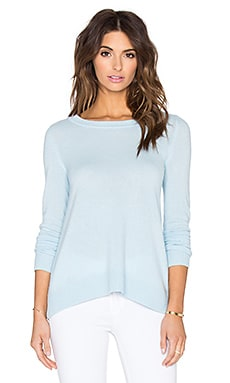 Diane von Furstenberg Zandra Sweater in Blue Cloud