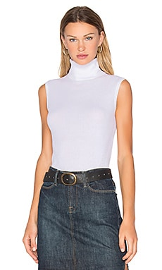 Diane von Furstenberg Sutton Sleeveless Sweater in Canvas White
