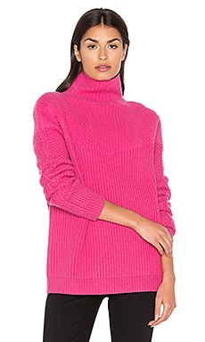 Jayleen Turtleneck Sweater in Forbidden Berry