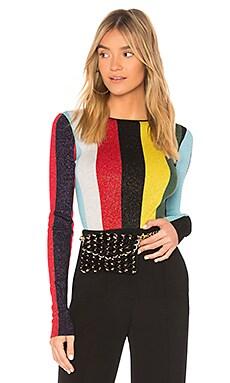 Crewneck Metallic Pullover