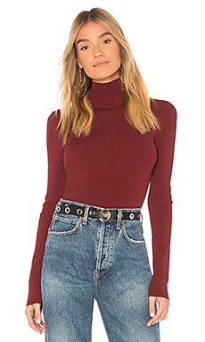Turtleneck Fitted Pullover