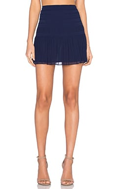Diane von Furstenberg Tayte Skirt in Midnight