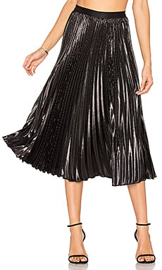Heavyn Lurex Skirt in Black