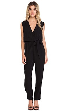 Diane von Furstenberg Rawena Jumpsuit in Black